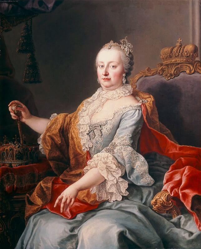 マリア・テレジア 女帝 ハプスブルク