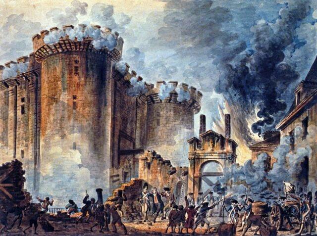 バスチーユ襲撃 フランス革命