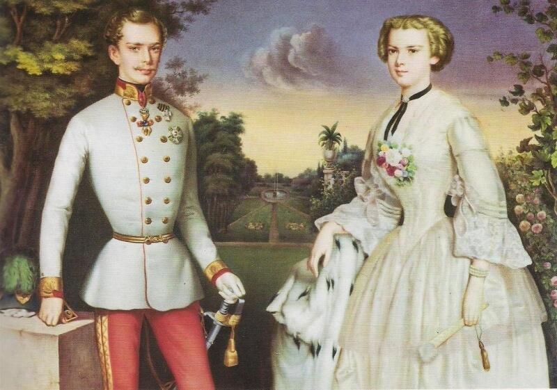 エリザベート皇后とフランツ皇帝 オーストリア
