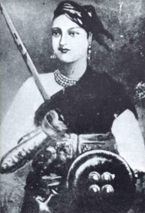 ラクシュミー・バーイー インド大反乱の英雄 女傑