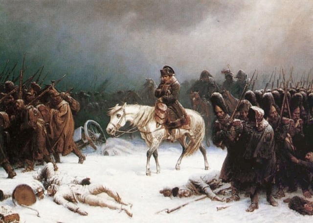 ナポレオンのモスクワからの退却 ロシア 祖国戦争