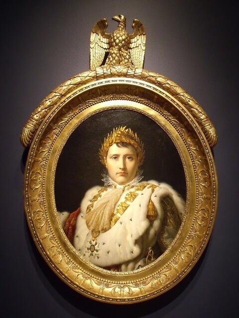 皇帝に即位するナポレオン
