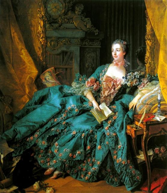 ポンパドゥール夫人 フランス