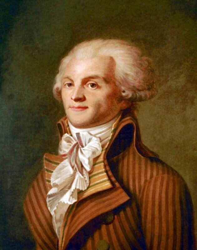 マクシミリアン・ロベスピエール フランス革命の人物