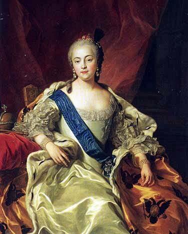 ロシアの女帝 エリザヴェータ
