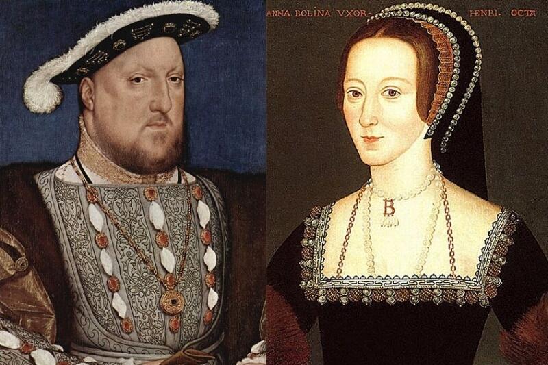 ヘンリー8世とアン・ブーリン