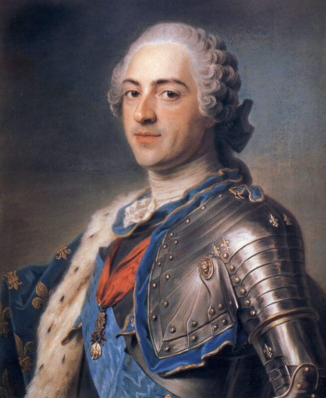 フランス国王ルイ15世 人物