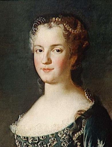 王妃マリー・レクザンスカ フランス国王ルイ15世の妃