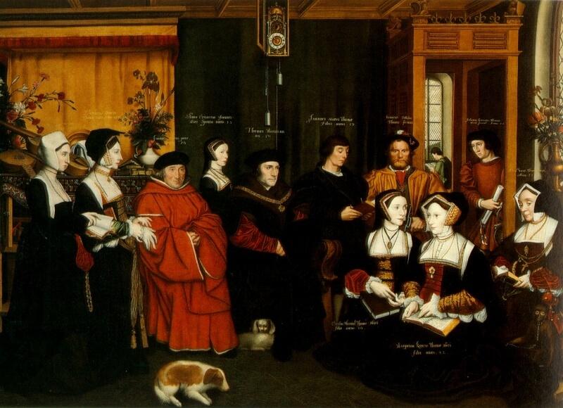 トマス・モアの家族 イングランドの政治家