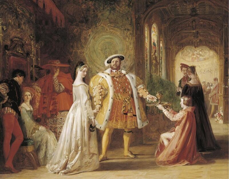 ヘンリー8世と妃