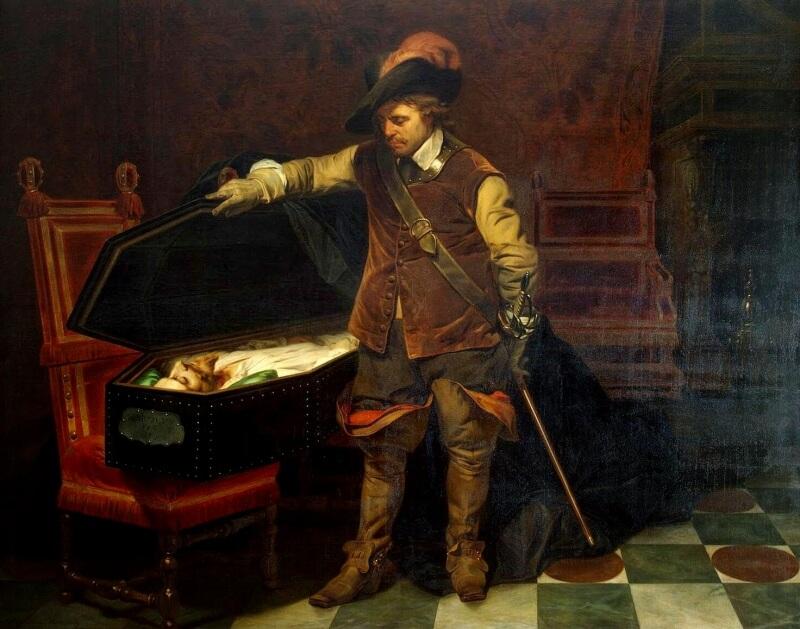 オリバー・クロムウェルとチャールズ1世