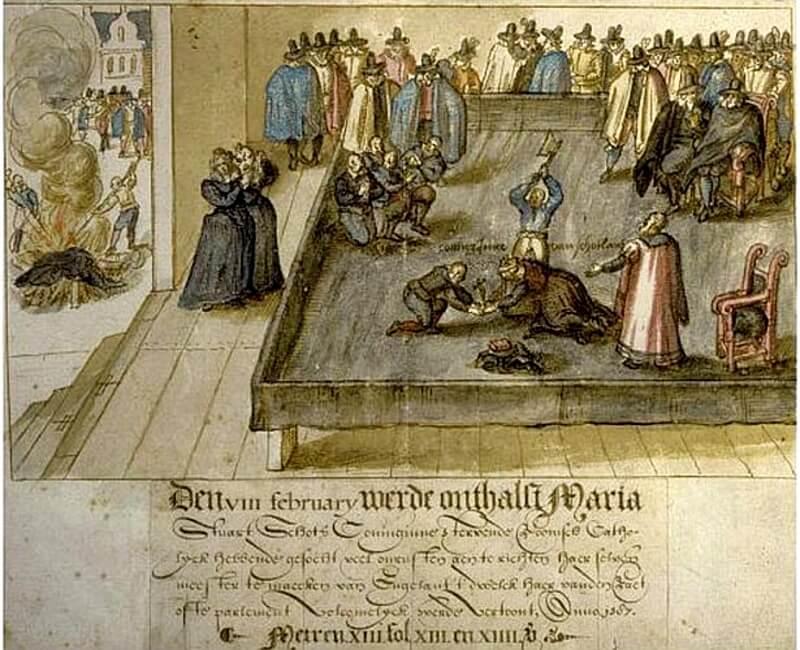 メアリー・スチュアートの処刑