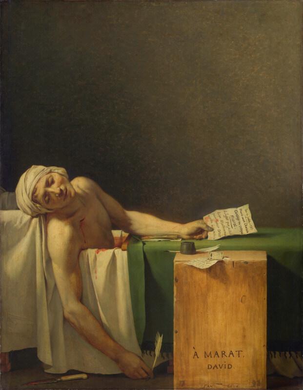 ジャン=ポール・マラー フランス革命の三大指導者 マラーの死 暗殺