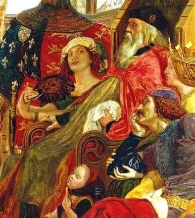 エドワード3世と愛妾アリス・ペラーズ